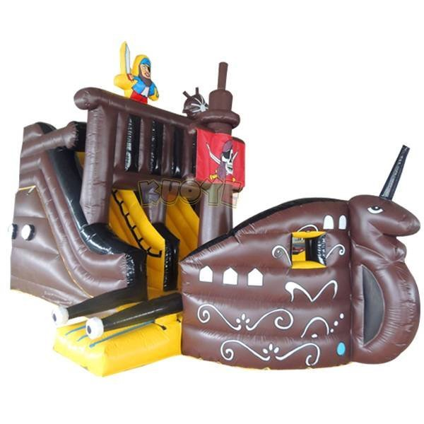 KYSC-04 Inflatable Captain Ship Slide