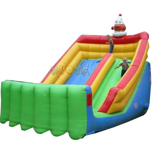 KYSC-09 Inflatable Dry Slide