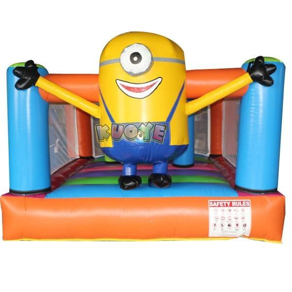 KYC-13 Minions Cheap Indoor Inflatable Bouncers