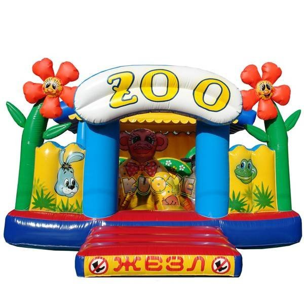 KYC-16 Cheap Giant inflatable Zoo Bouncer