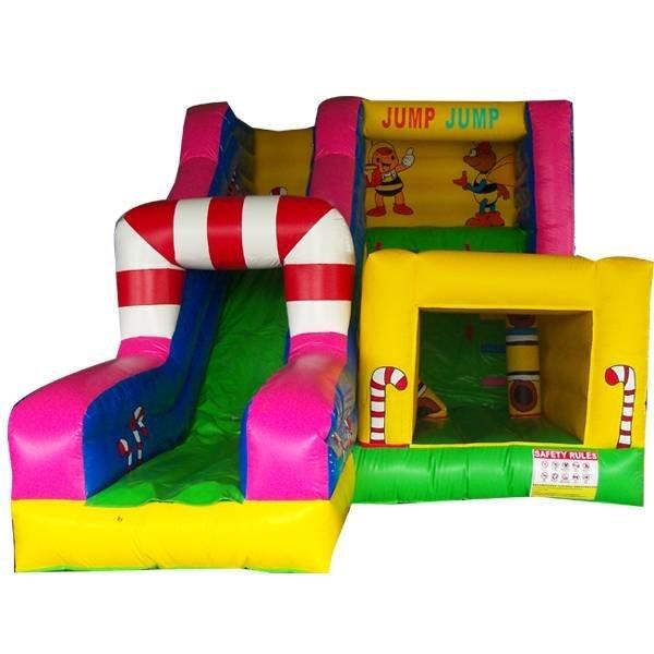 KYCB-03 Christmas Bouncy Castle Slide