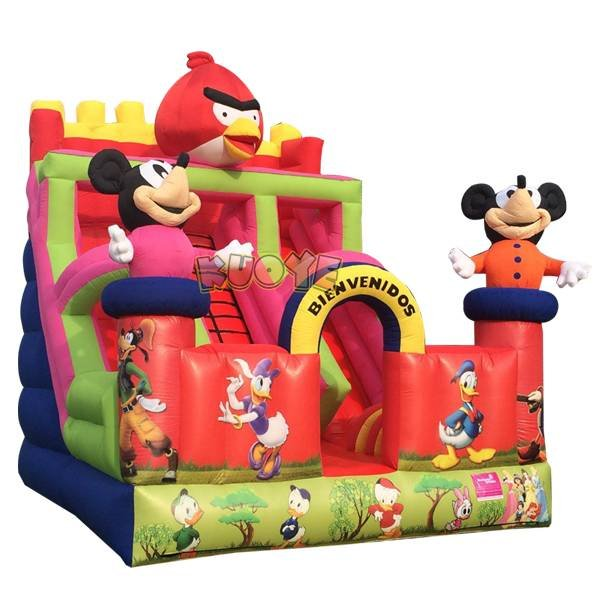 KYSC-17 Angrybird Inflatable Slide