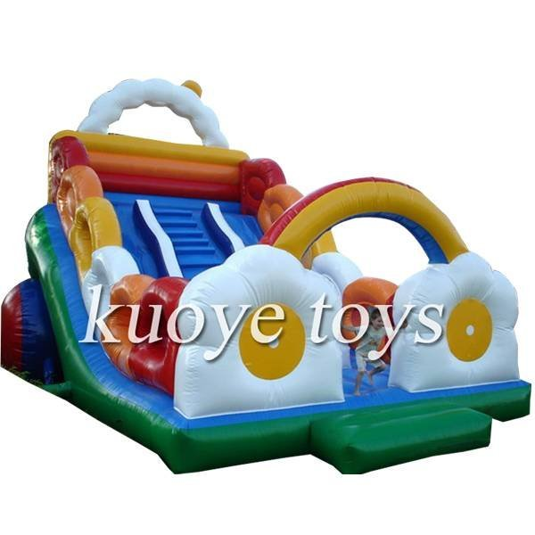 KYSC-25 Flower Inflatable Bouncy Slide