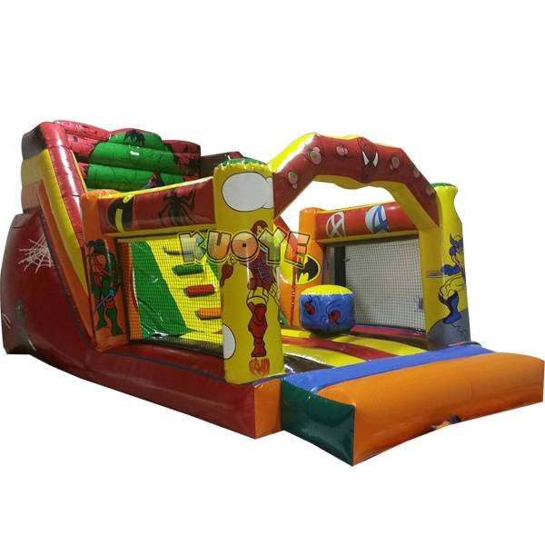 KYSC-27 Super Heroes Inflatable Hulk Slide