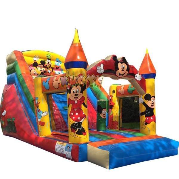 KYSC-32 Mickey House Inflatable Bounce Castle Slide