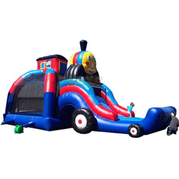 KYCB-05  Truck Inflatable Bouncer Slide