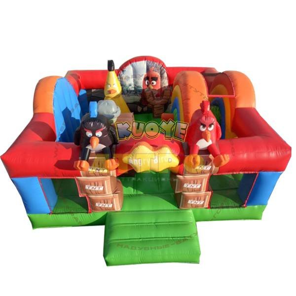 KYCB-28 Angry Inflatable Birds Bouncer