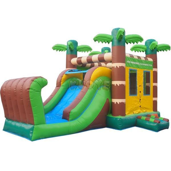 KYCB-31 Jungle Bounce House Slide