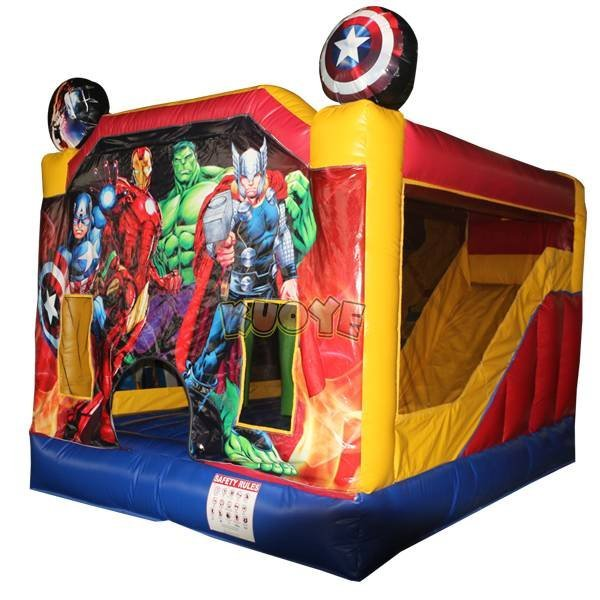 KYCB-32 The Avengers Theme Inflatable Bouncy Slide