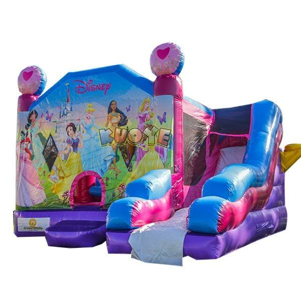 KYCB-35 Princess Inflatable Bouncer With Slide