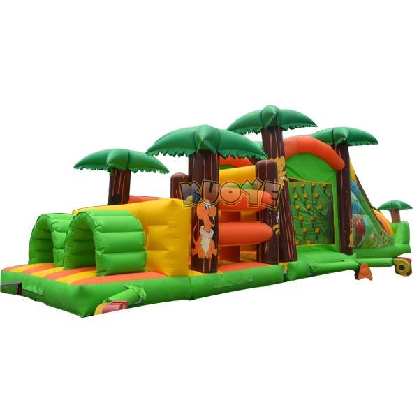 KYOB-21 Inflatable Jungle Obstacle