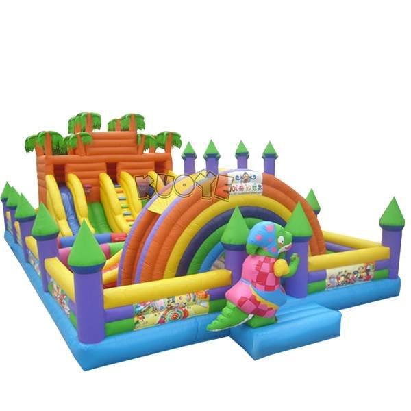 KYCF-16  Inflatable Slide Amusement Park