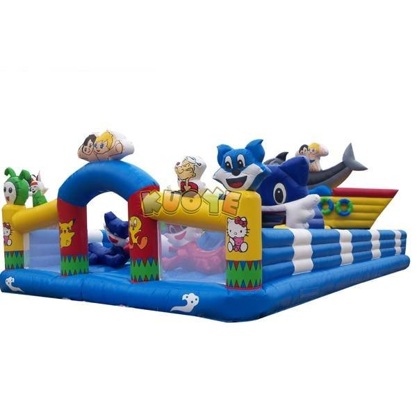 KYCF-17 Commercial Inflatable Playground