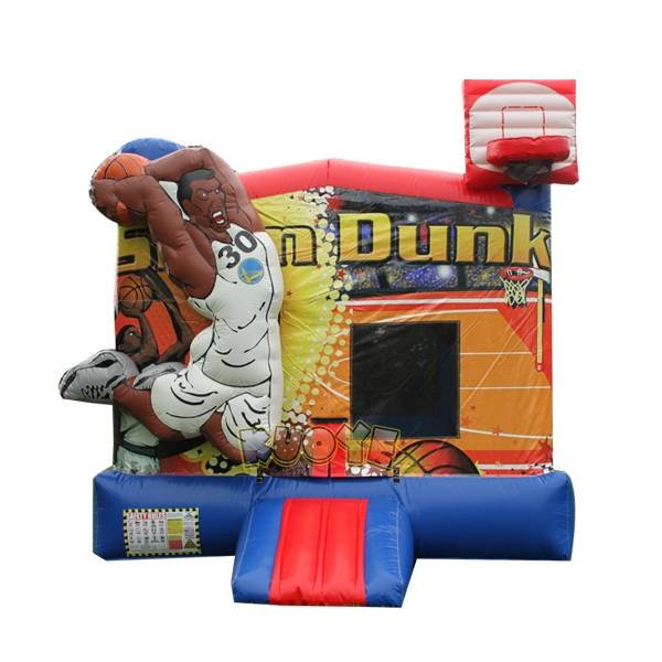 KYC-126 Inflatable Bouncer With Basketball Hoop