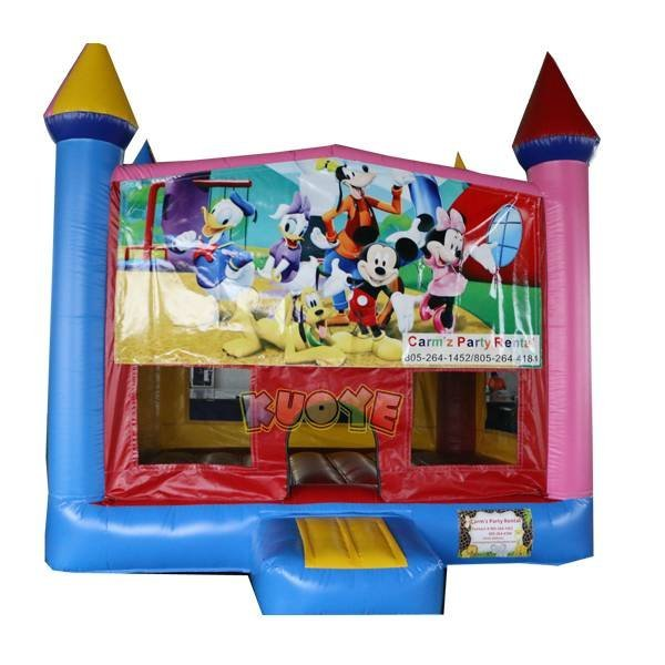 KYC-142 Mickey Banner Jumping Castle