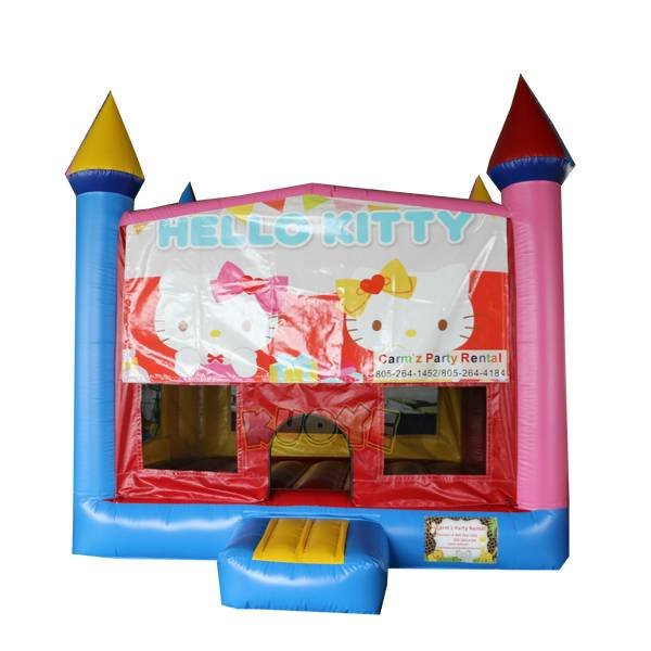 KYC-143 Kitty Banner Jumping Castle