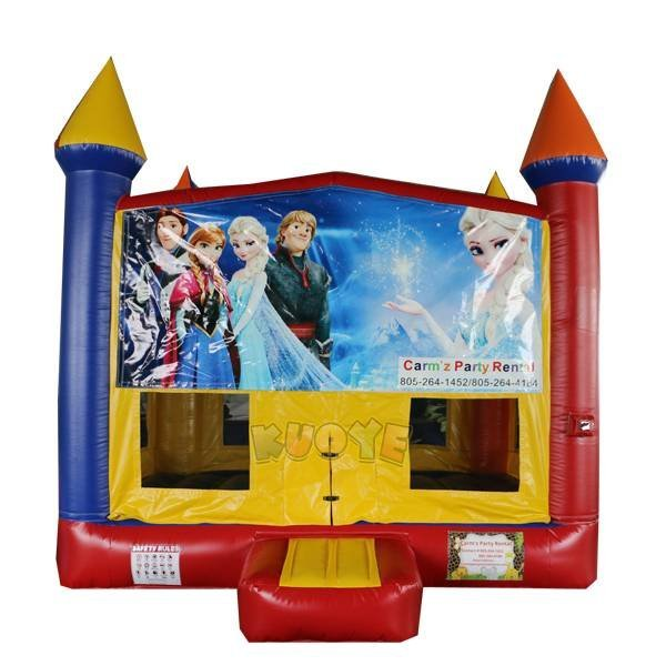 KYC-144 Bouncy Castle With Frozen Banner