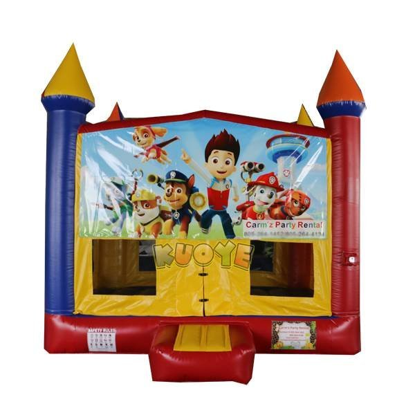 KYC-146 Paw Patrol Banners Bounce House