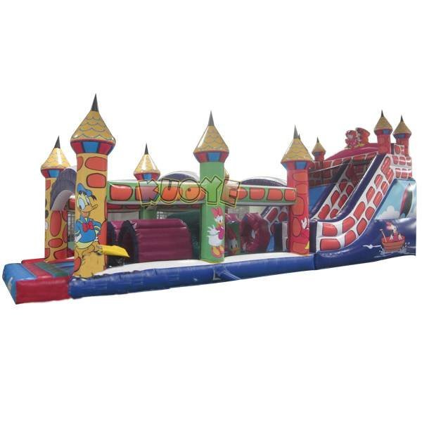 KYOB-25 Mickey Mouse Theme Inflatable Obstacle