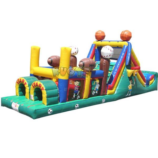 KYOB-35 Inflatable Obstacle Course Combo