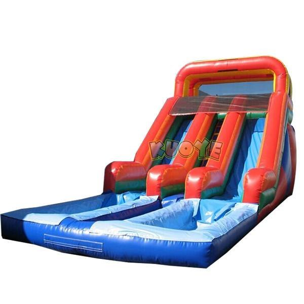 KYSS-27 Inflatable 18' Double Load Dual Slide