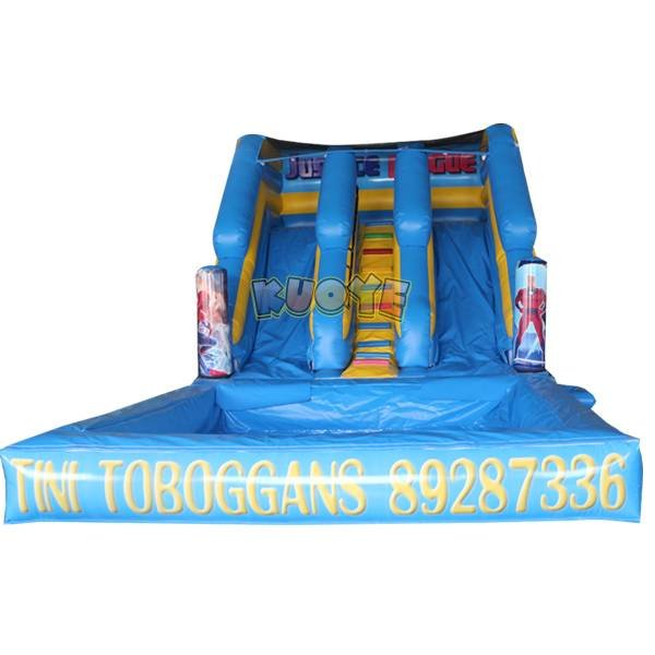 KYSS-30 Justice League Inflatable Water Slide