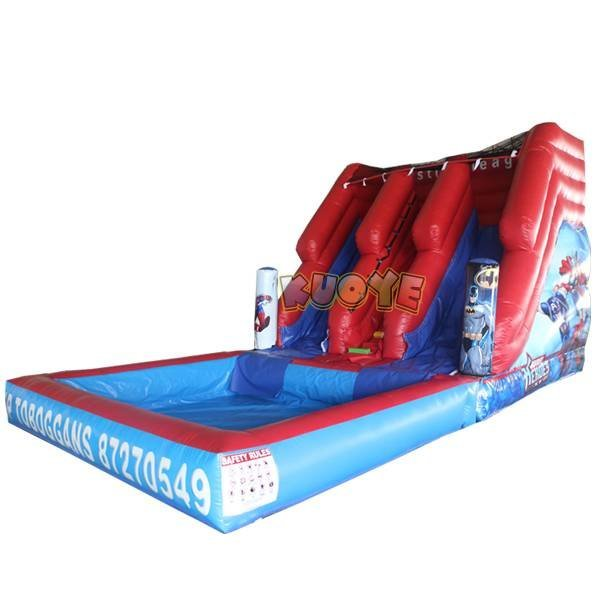 KYSS-32 Commercial Inflatable Water Slide