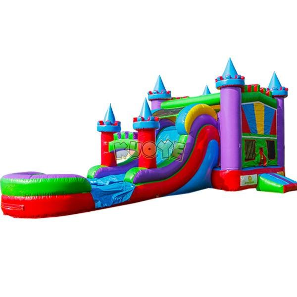 KYCB-37 Giant Inflatable Dry &Wet Bouncer Combo
