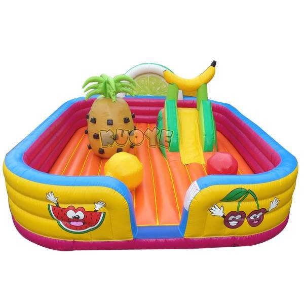 KYCB-43 Fruit Inflatable Playground