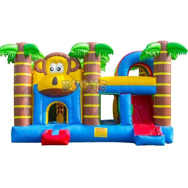 KYCB-45 Inflatable Animal Monkey Moonwalk Bouncer