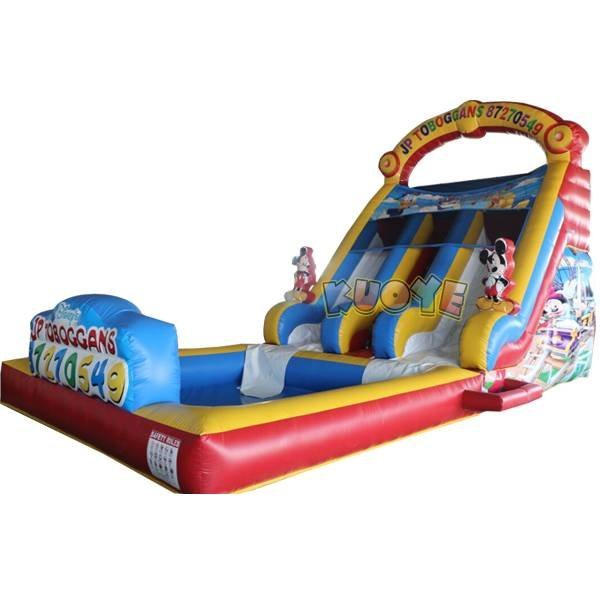 KYSS-35 Best Quality Inflatable Micke Water Slide