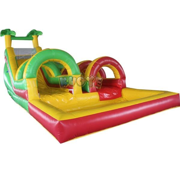 KYSS-36 Inflatable Water Slide Manufacturer