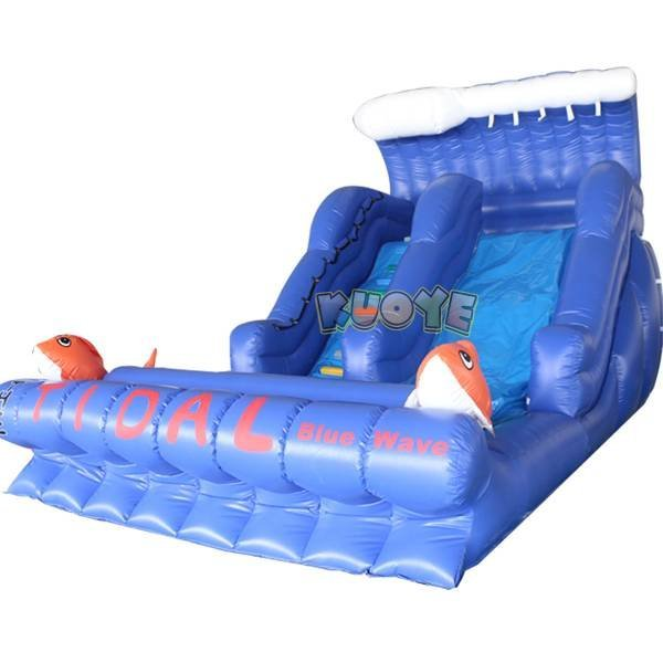 KYSS-41 Big Kahuna Inflatable Water Slide
