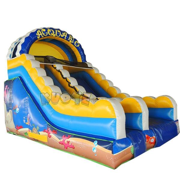 KYSC-36 0.55MM PVC Inflatable Sea World Slide