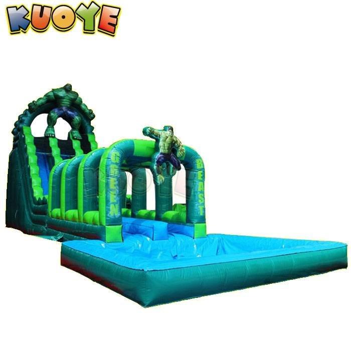 KYSS-66 Avengers Hulk Water Slide