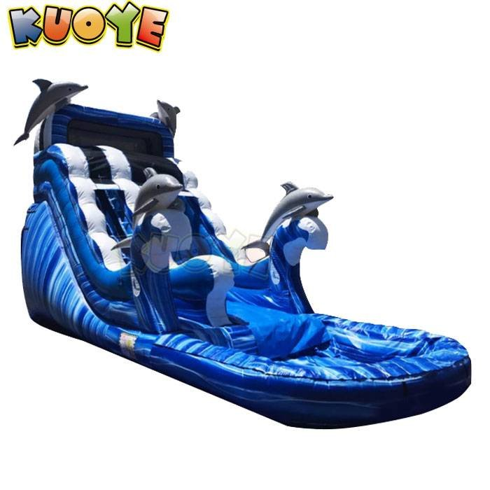 WS1801 Dophins Wave Water Slide