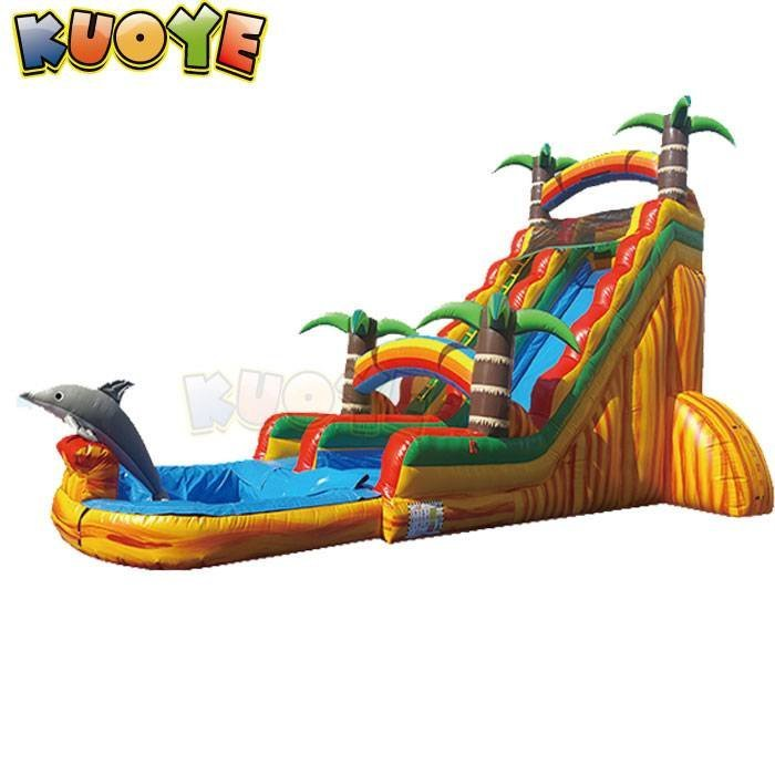 WS1813 Tropical Rainbow Wet&Dry Slide
